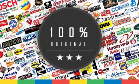 Logotipo 100% Original y Personalizado