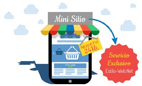 Mini Sitio dentro de MercadoLibre: Un servicio exclusivo de Mejor Digital