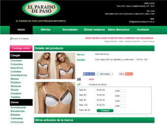 Diseño Web - Plataforma E-Commerce