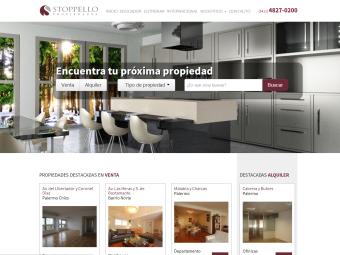 Diseño Web - Plataforma Inmobiliaria