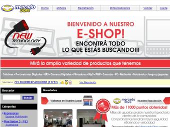 Diseño Web - Eshop Mercadolibre